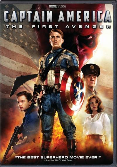 Marvel 5 : Captain America : First Avenger.