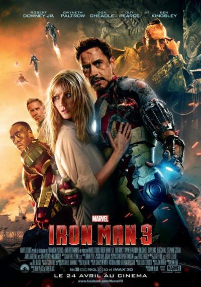 Marvel 7 : Iron Man 3.