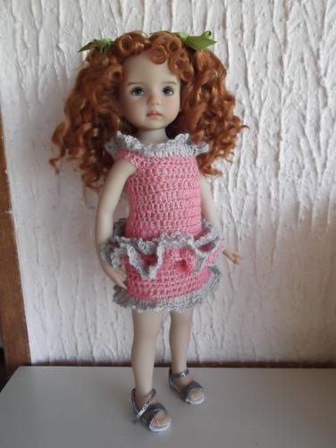 Une robe au crochet pour Maureen.