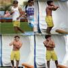Za-Nessa-SourceSamedi 19 juin:  Zac, encore torse nu, à Hawaï fête la victoire des Lakers avec son frère et Taylor Steele.  Et beeeeeen, décidément ! Ils l'ont payé pour qu'il s'exhibe ou quoi ? Bon, on va pas se plaindre hein.  ;)  Za-Nessa-SourcePhotos, Zac à Hawaï avec ses fans ... qui, d'ailleurs, ne sont plus tellement des ados. Za-Nessa-Source