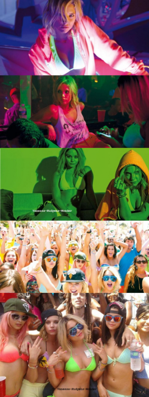 Selena Gomez : Vanessa Hudgens, Ashley Benson, de nouvelles photos encore plus sexy de Spring Breakers !
