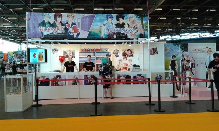 Beemoov à la Paris Japan Expo
