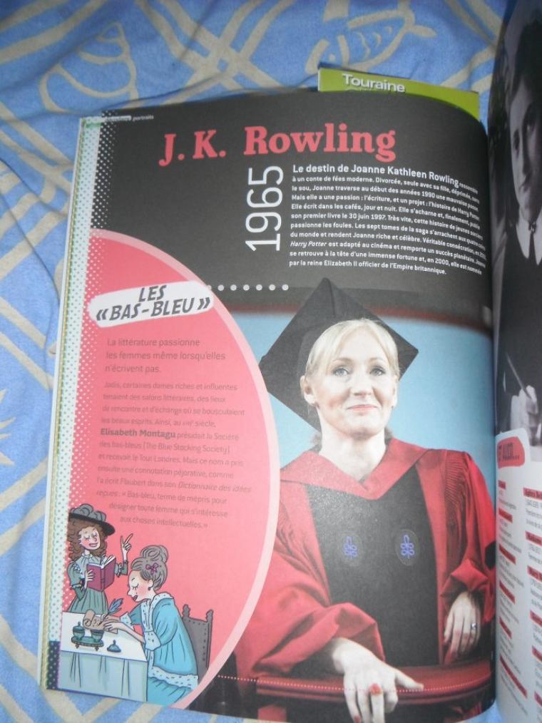 Apparition d'Hermione Granger et J.K. Rowling !