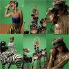 Rihanna-RFSource | 9 Février ~ Premières photos du vidéo clip de «Rude Boy». Rihanna sur fond vert ? Rihanna les cheveux longs ? Rihanna sur un zèbre ? Oui, tout cela figurera dans le vidéo clip de «Rude Boy» au vue des nouvelles images promotionnelles publiées aujourd'hui sur le site officiel de Rihanna et sur celui de son label également. Le clip sera disponible dès jeudi sur «VEVO» (YouTube). Je meurs d'impatience !