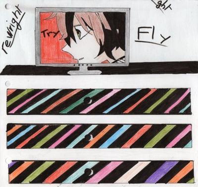 My drawing (」゜ロ゜)」