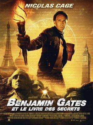Benjamin Gates et le livre des secrets.