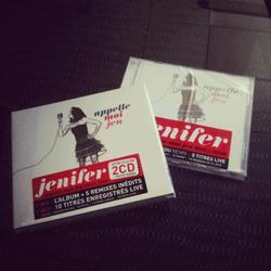 2 Albums pour Jenifer Début 2o12
