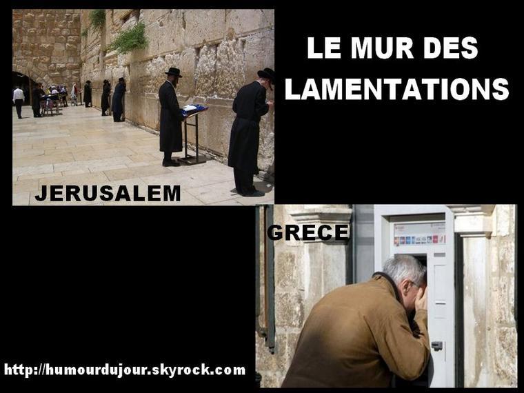 Le Mur Des Lamentations Humour Du Jour
