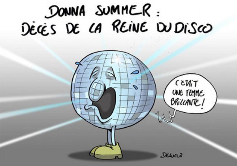 DONNA SUMMER EST MORTE