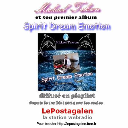 L'album Spirit Dream Emotion sur la Station Webradio LePostagalen
