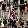 VENDREDI 20 AOUT | Justin a l'aéroport de Barbados. JUSTIN AVEC TOUJOURS DU STYLE, SES CHAUSSURES ♥.