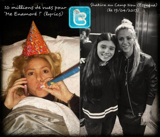 Shakira en tournage dans les rues de Barcelone ! + nouveau tweet (le 15/04/2017)