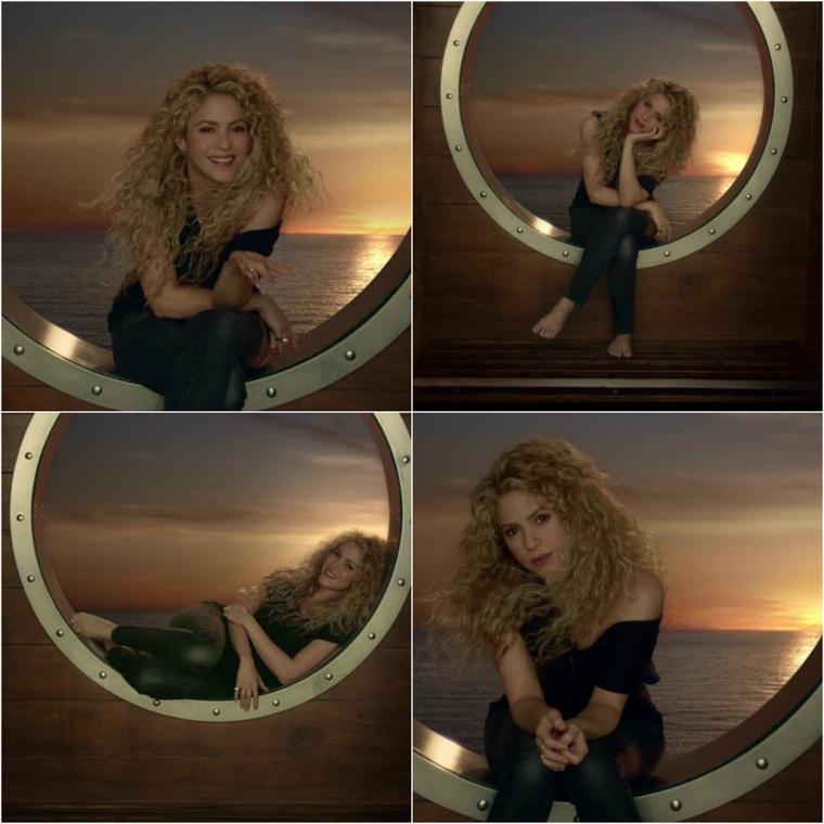 Nouvelle publicité de Costa Croisières avec Shakira !  (le 01/01/2017).