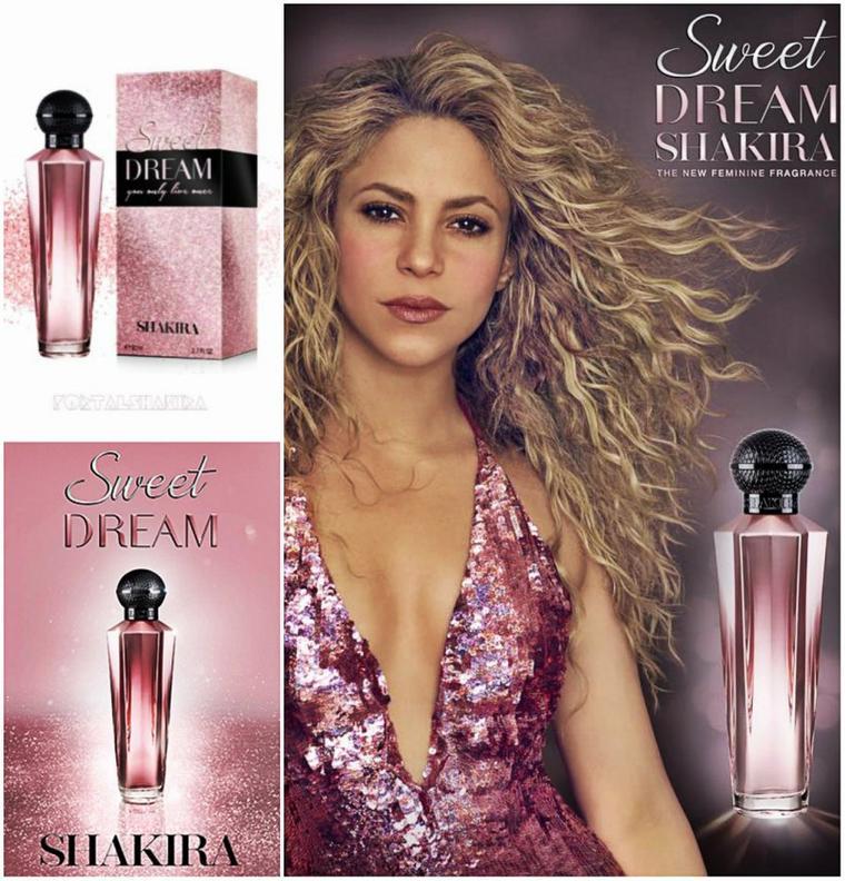 """""""Sweet Dream by Shakira"""": une nouvelle déclinaison pour 2019 (Le 27/10/2019)."""