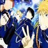 ROY MUSTANG ET SES POTES