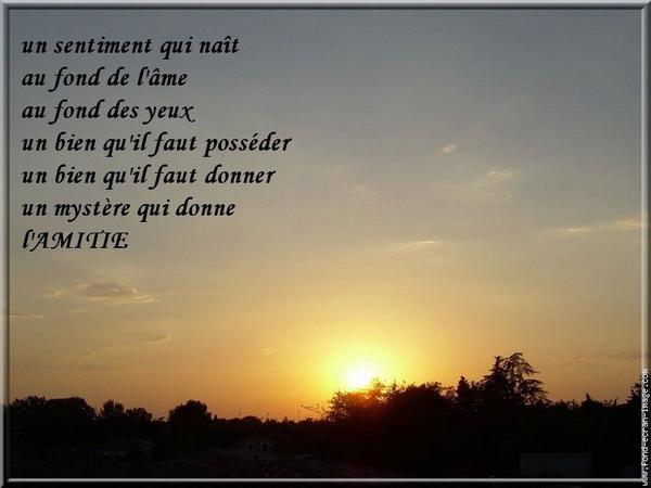 Le Poème De L Amitié Blog De Angel1574