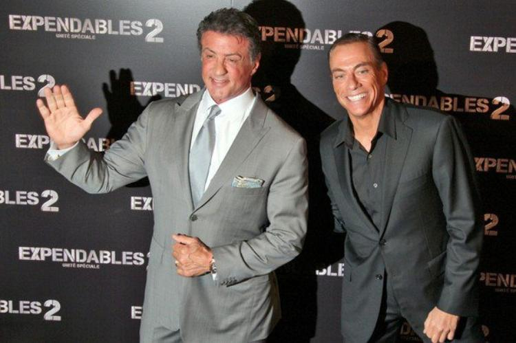 Shooting photos The Expendables II