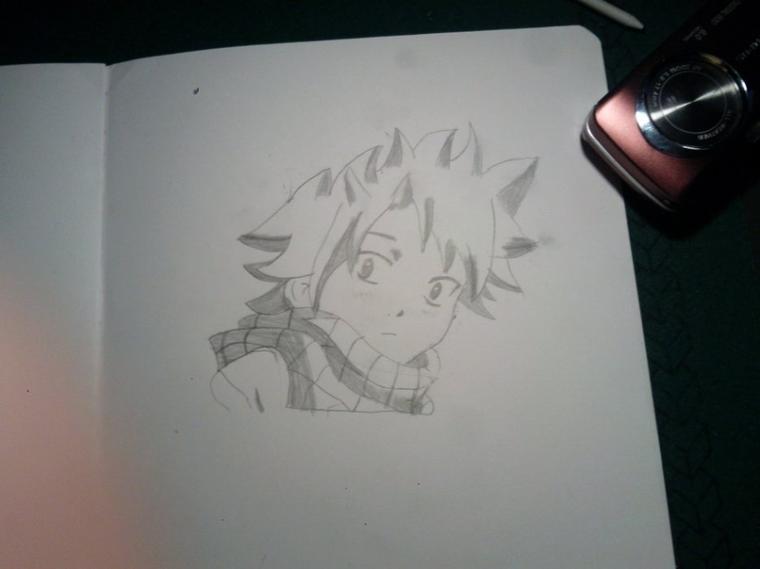 dessins de natsu