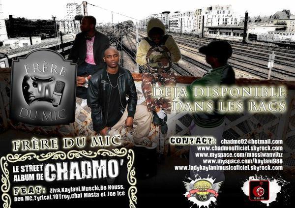 """Street album """" frére du mic"""" sort le 01 septembre 2009"""