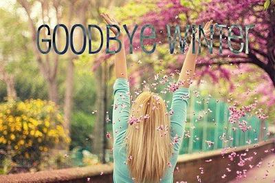 Goodbye Winter !