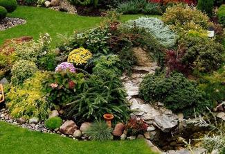 astuces pour cr er un beau jardin de rocaille blog de monique bouilliez. Black Bedroom Furniture Sets. Home Design Ideas