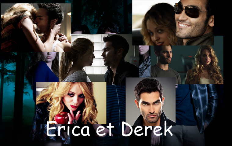 Erica And Derek Teen Wolf