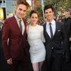 Le Cast était à l'Avant Première d'Eclipse à Los Angeles.