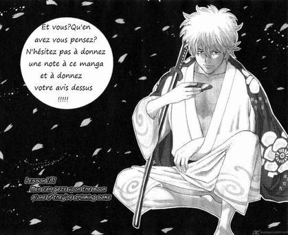 Vingt sixième critique: Gintama