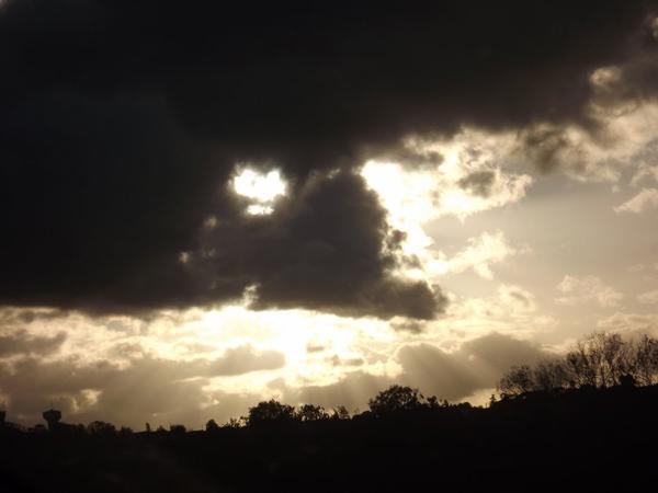 Ciel et contrastes .....