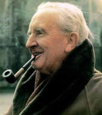 """""""I desired dragons with a profound desire. Of course, I in my timid body did not wish to have them in the neighbourhood. But the world that contained even the imagination of Fafnir was richer and beautiful at whatever cost of peril."""" - Tolkien"""