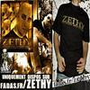 """Zethy """"Pochette Coloris Or et tee-shirt officiel"""""""