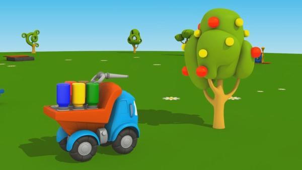 Cartoni Animati Per Bambini Leo Junior E Lalbero Di Mele