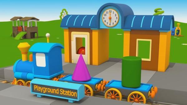 Cartoni animati per bambini u2013 leo junior e la nuova stazione del