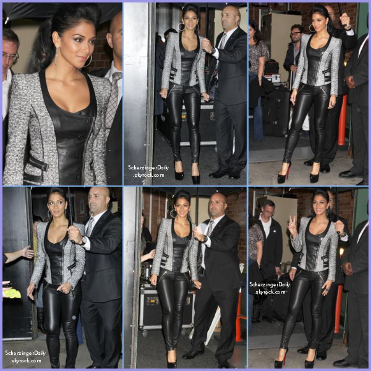 -- Mercredi 12 Octobre 2011 : Nicole quitte les studio de Good Morning America.. --