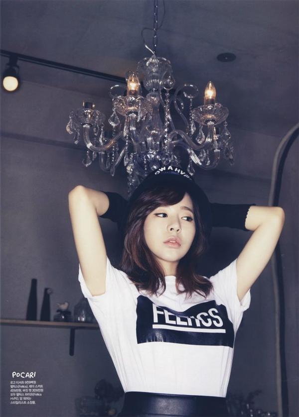 """사진   Sunny (membre de Girls Generation) pose pour le magasine """" CéCi""""   이순규"""