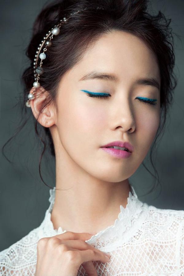 사진     Im Yoon Ah  , membre du groupe SNSD  pour  ELLE , Avril 2015   임윤아