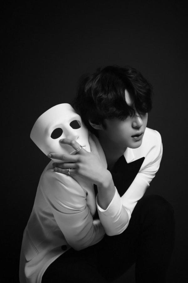 """Leo & Ravi (LR), concept photo pour leur mini-album """"Beautiful Liar"""