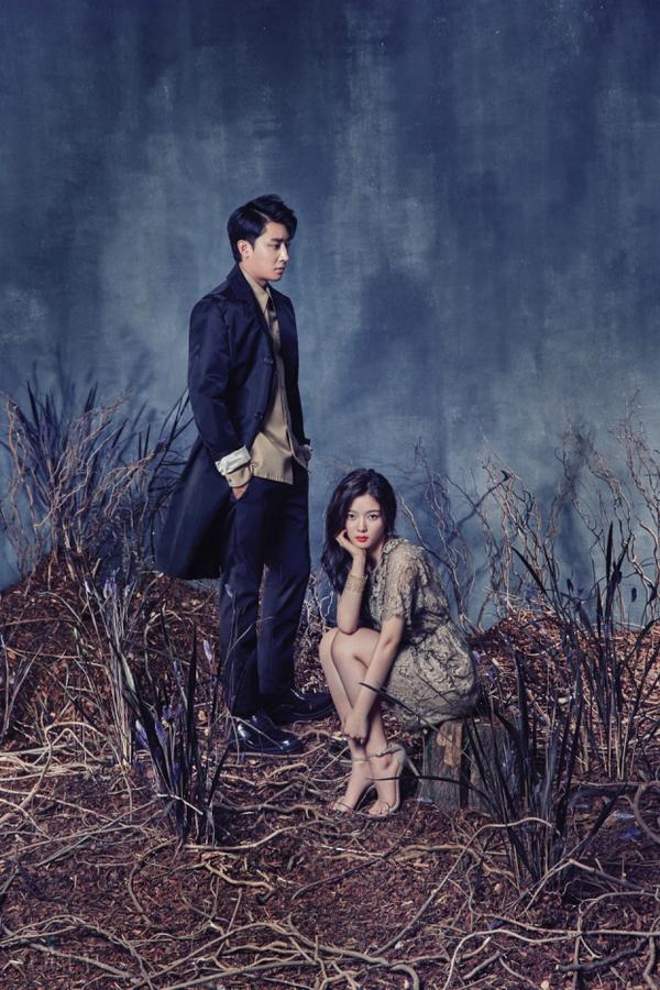 Les acteurs Kim Yoo Jung & Son Ho Joon (également chanteur) pour Vogue Korea, octobre 2015