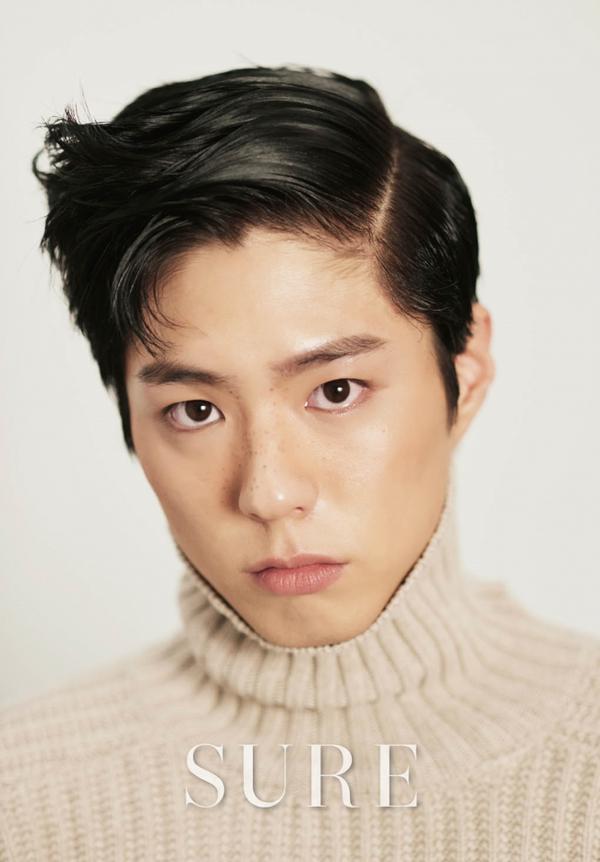 L'acteur Park Bo Gum pour SURE, octobre 2015
