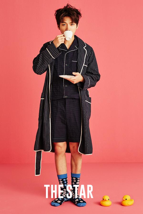 Nam Woo Hyun, membre du groupe INFINITE pour The Star
