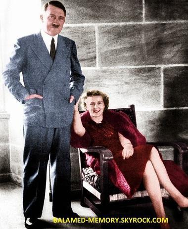 Actualité : Eva Braun, l'épouse d'Hitler avait des origines juives