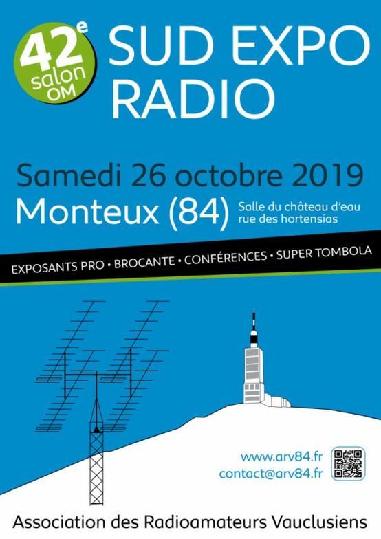Le salon radioamateur 2019 à Monteux