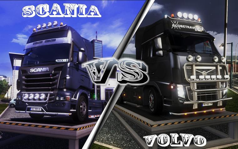 scania vs volvo | - truck game