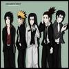Sasuke, Naruto, Neji, Shikamaru, Sai