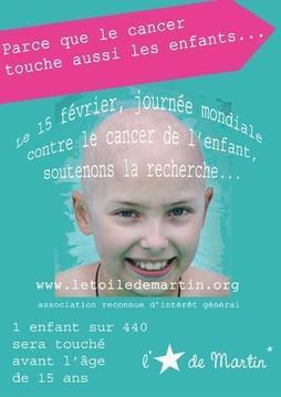 15 février, journée mondiale des cancers pédiatriques