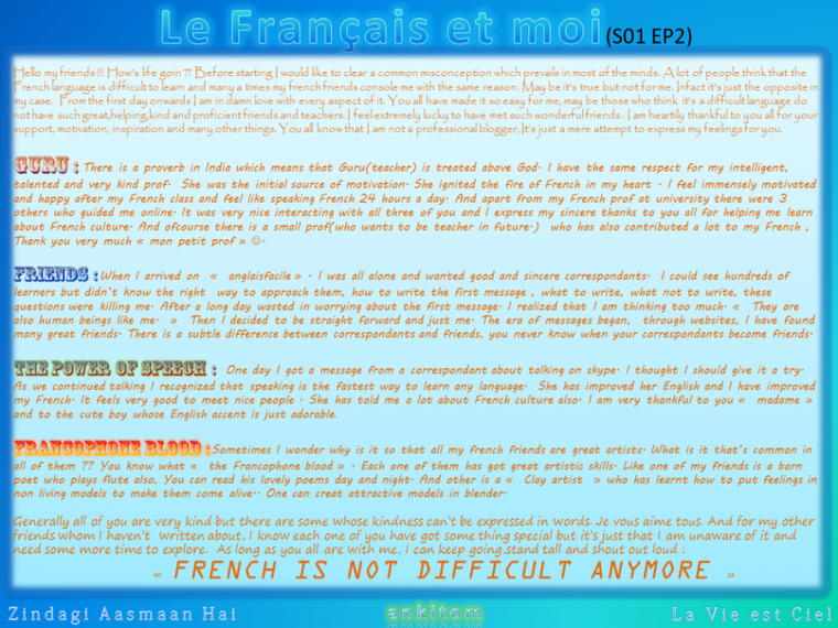 Le Francais et moi - S01EP2