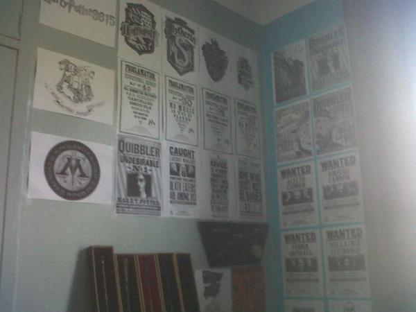 Seance photo de ma chambre!