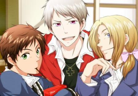 Hetalia, the old times // F.1