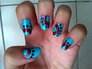 Tuto : déco ongles oeillets