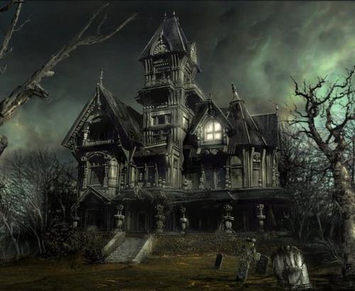 Une maison hantée bientôt détruite ! ♠